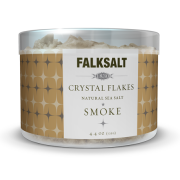 Smoke Sea Salt Crystal Flakes by Falksalt