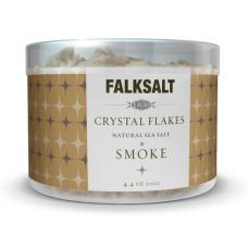Smoke Sea Salt Crystal Flakes by Falksalt